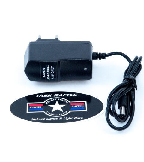 8.4V European Charger For Helmet Light Systems
