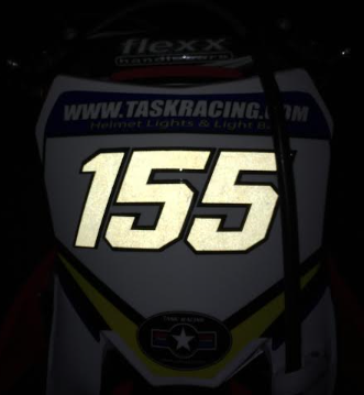 Reflective Race Numbers