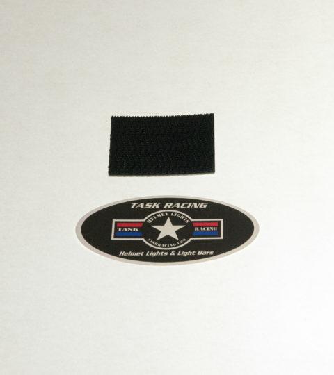 Extra (1) Task Racing Helmet Mount Snap-Lock Strip For Helmet