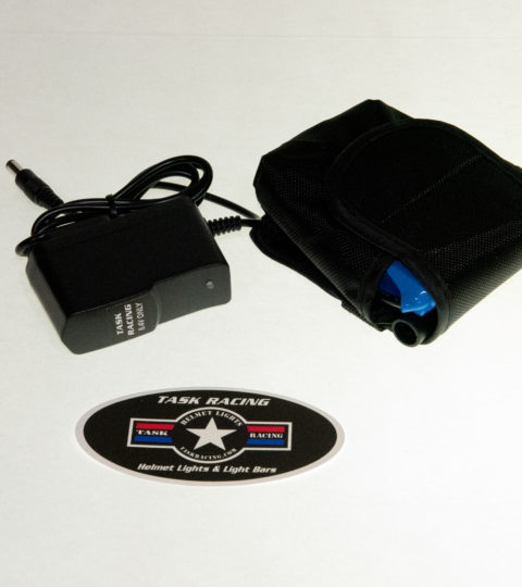8.4V 2+Hr Helmet Light Battery & Charger