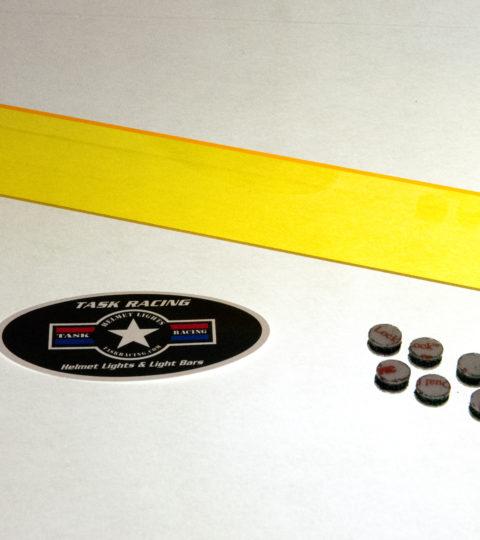 Yellow Light Bar Lens (Light Dust/Snow)