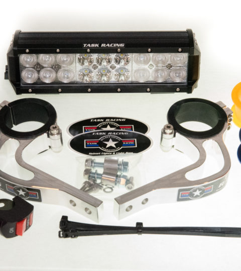 10″ Hardwire Light Bar WITH Fork Mounted Factory Baja Gore Mounts