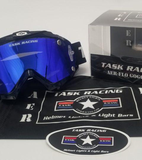 AER-FLO Goggles- Iridium Blue 10% Tint Edition