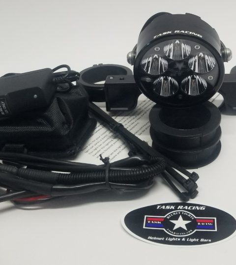 RA 2.0 Single Rechargeable Battery Headlight Bucket Package