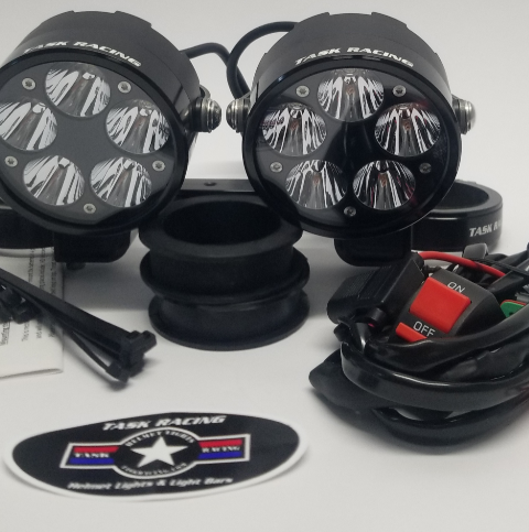 RA 2.0 DUAL Hardwired Headlight Bucket Package